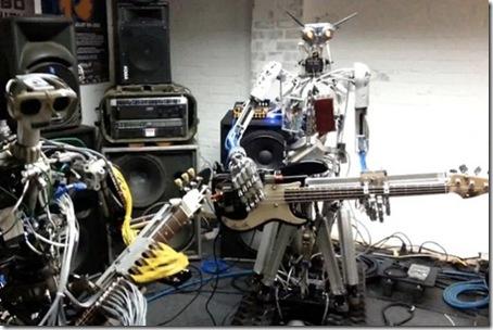roboti muzicali - trupa rock-compressorhead