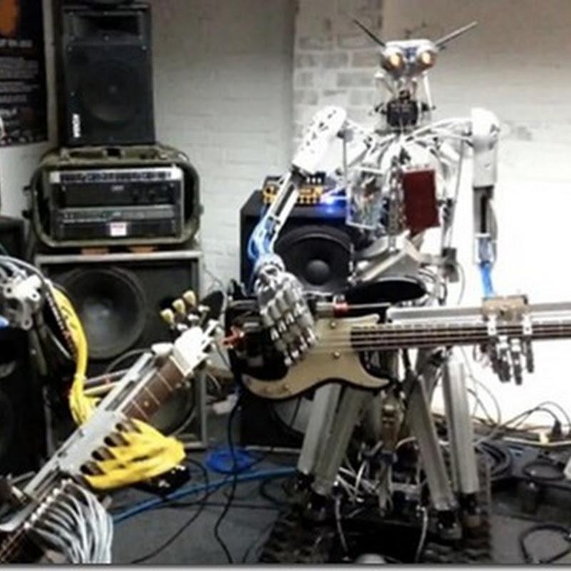 Compressorhead , trupă heavy metal formată din roboţi
