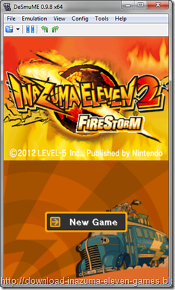 Download [NDS] Inazuma Eleven 2 Firestorm (E) Nintendo DS Rom Games