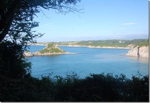 Sendero del litoral, Domaine D'Abbadia- Abbadiako eremua , Hendaia - Sokoa, 1º etapa, 19 de Julio de 2012 -  45