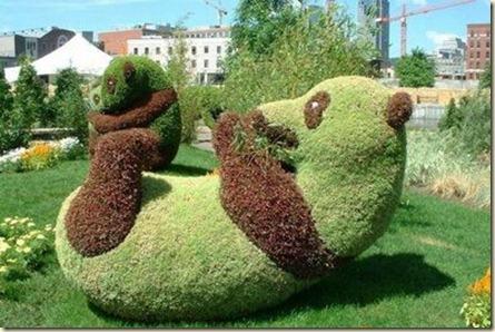 Decoración de Jardines con Cañas5