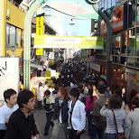 Takeshita dori in Japan in Harajuku, Tokyo, Japan