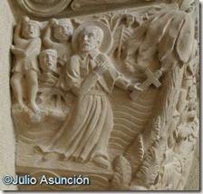 San Francisco Javier apedreado - Basílica de Javier