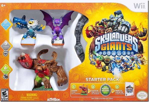 Skylanders Giants Wii StarterPack