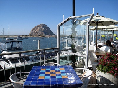 Morro Rock from Blue Sky Cafe