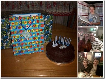 2011_0623 Jesse's 14th Birthday Mosaic