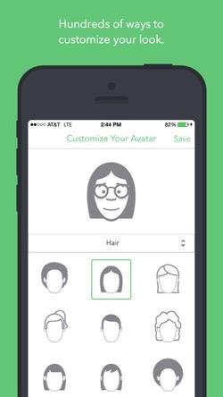 LINEスタンプのように自分の顔を作成できるiPhoneアプリ1