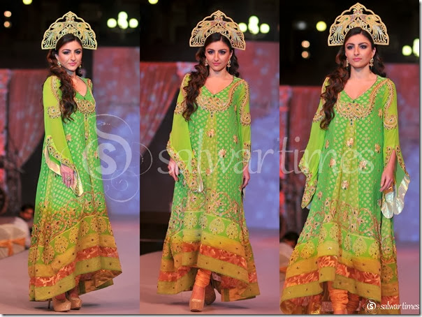 Soha_Ali_Khan_Green_Embroidery_Long_Salwar_Kameez