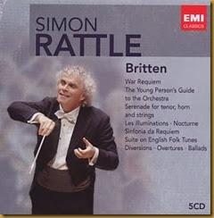 Rattle Britten EMI