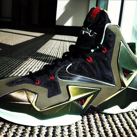 Nike LeBron XI 11 Army SlateGun Metal BlackLight Army