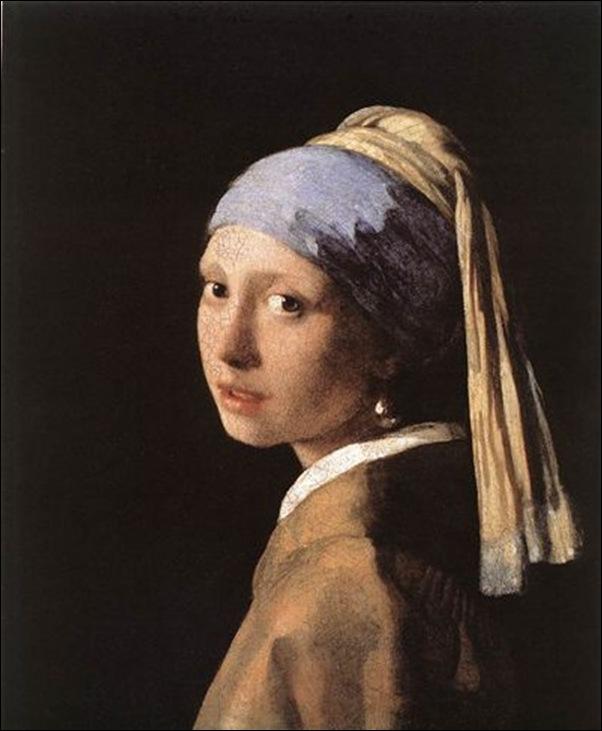 Vermeer, Jeune fille à la perle
