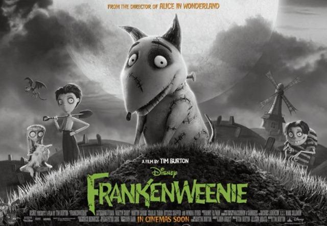 frankenweenie disney poster 2012