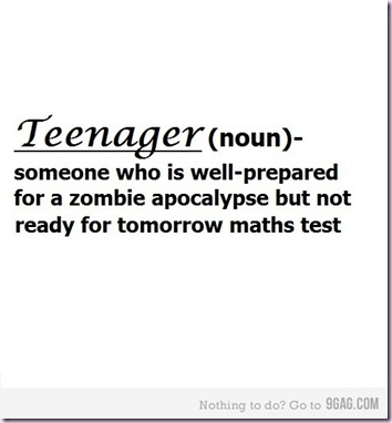 teenager -test