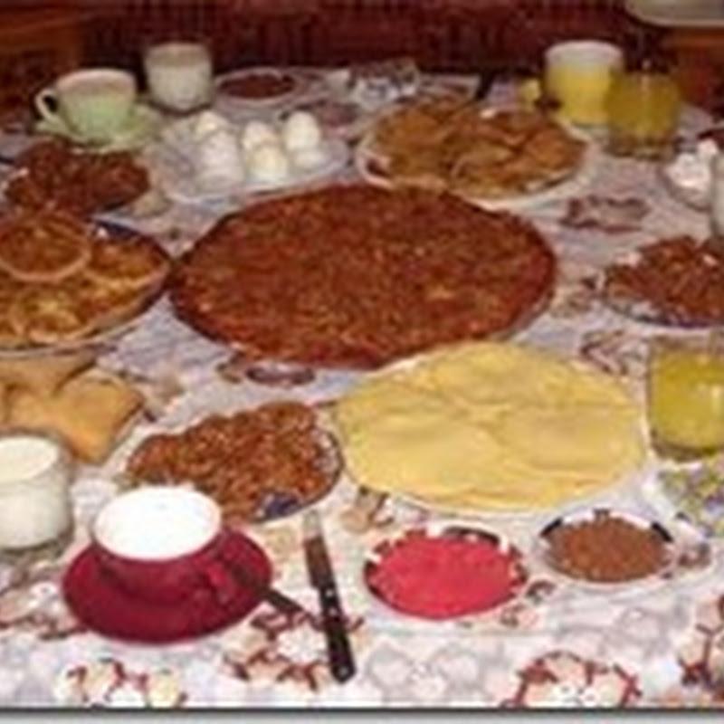 ماهي وجبة الإفطار المثالية  في رمضان؟