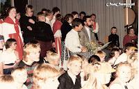 De school bestond 25 jaar én Evert Sytsma was 25 jaar bij het onderwijs. Dus dubbel feest!
