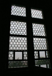 the famous Defenestration Window in the Royal Palace