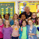 WBFJ Cici's Pizza Pledge - Salem Baptist Christian School - Miss Scruggs' 3rd Grade Class - Winston-