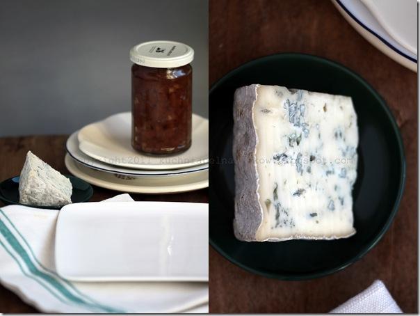bagietki z serem pleśniowym i konfiturą gruszkowo-cytrynową1