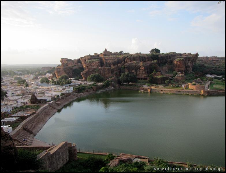 View of the ancient capital Vatapi