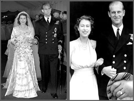 Prince Phillip Wedding With Queen Elizabeth II in 1947