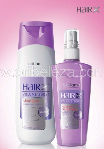 Oriflame HairX – Linha Volume +