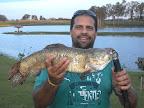 Este é o Luciano que pescou essa traíra de 2.200 kg no pesqueiro Gabardo em Montenegro/RS....Parabéns Pescador!