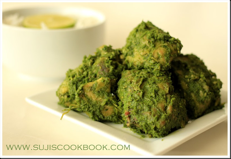 Spinach/Palak chicken