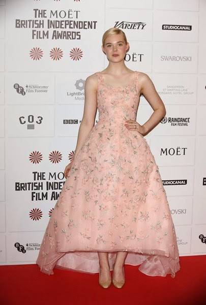 Elle Fanning British Award 2013