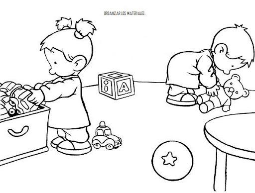 normas de comportamiento para colorear. Black Bedroom Furniture Sets. Home Design Ideas