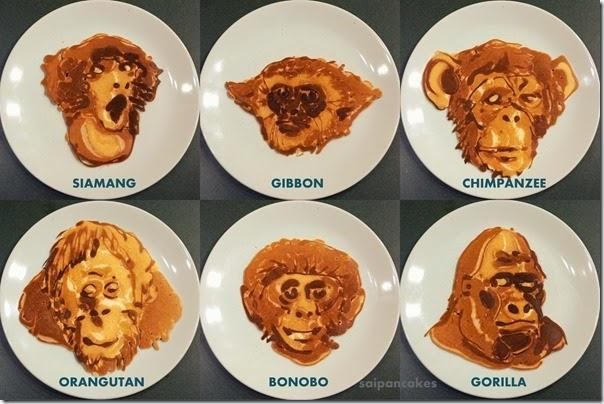 Ape pancakes