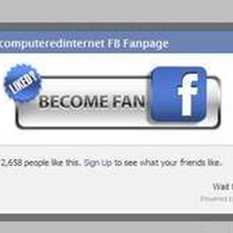 Installare nel blog una finestra popup per diventare fan su facebook che si apre e si chiude - Creare finestra popup ...