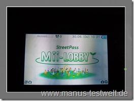 Nintendo Mii Lobby