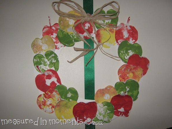 Apple wreath 2