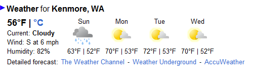 "image courtesy of Google Search ""Kenmore, WA Weather"""