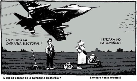 campanha electorala en Catalonha