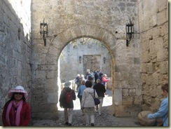 Entering the Old Town of Rhodes (Small)