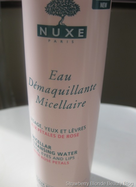 Nuxe Rose Micellar Cleansing Water