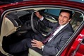 Mark Fields with 2013 Lincoln MKZ