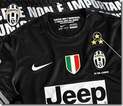 Juventus camiseta suplente 2012-13