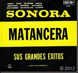 Sonora Matancera-Para Coleccionistas, (portada)