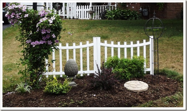 landscaping front fence 004