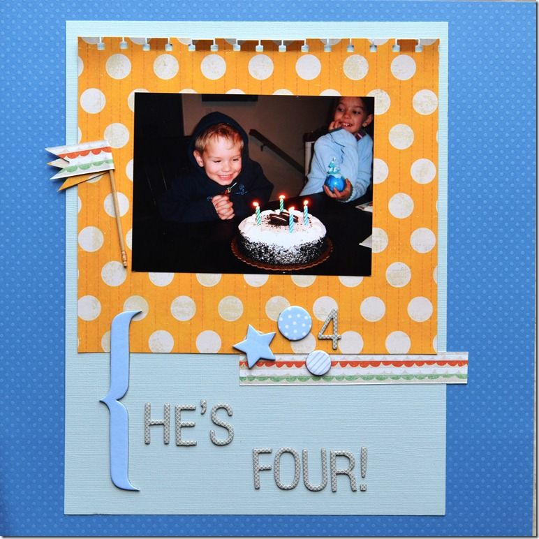 He's Four!