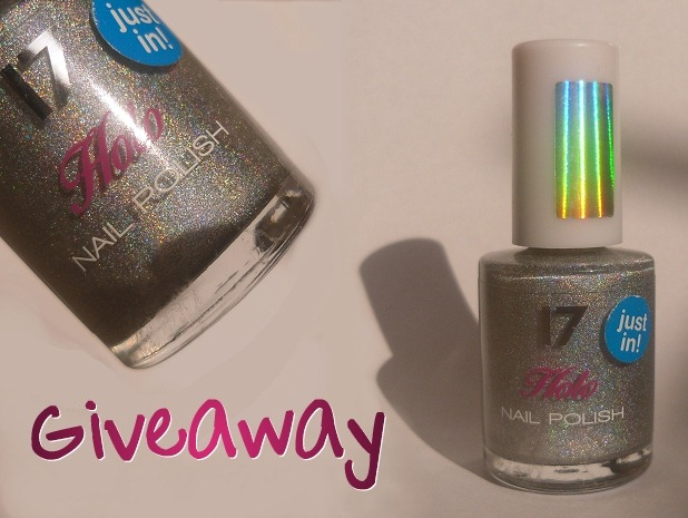 17 cosmetics holo nail polish - giveaway