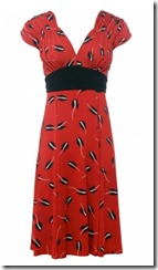 Isabel de Pedro Red Lily Dress