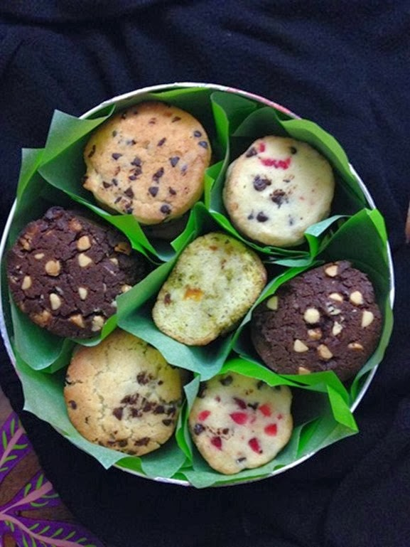cookies in scatola