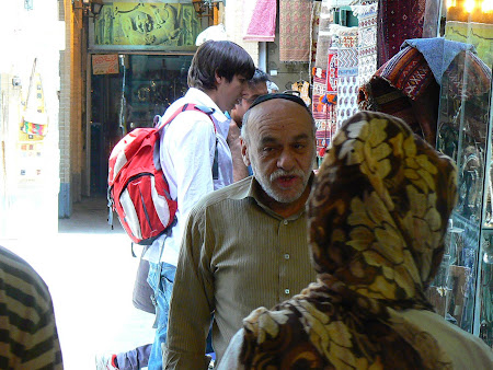 Imam square Isfahan: Jew in the bazaar