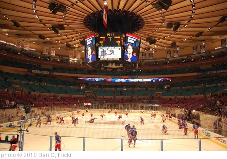 'Rangers Vs. Carolina Hurricanes 1/27/10, Madison Square Garden' photo (c) 2010, Bari D - license: http://creativecommons.org/licenses/by-nd/2.0/