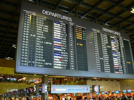 Singapore; Changi Airport