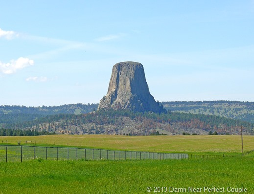 Devil's Tower from Distance