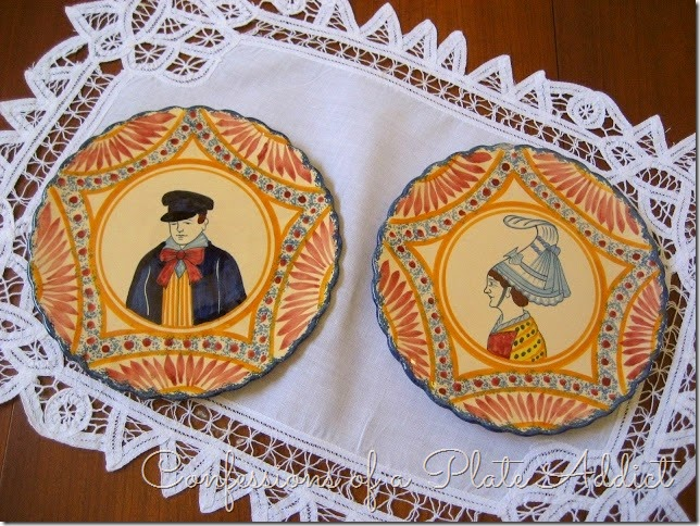 ICONFESSIONS OF A PLATE ADDICT Vintage Quimper Collection